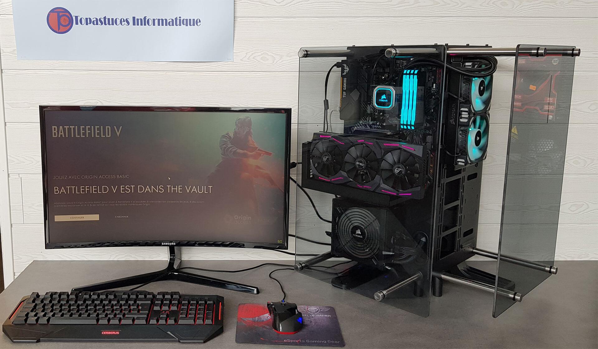 Vente de matériel et accessoire Gaming